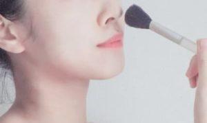 鼻のメイク